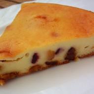 Tvarohový koláč se sušeným ovocem recept