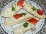 Sýro-česneková pomazánka recept
