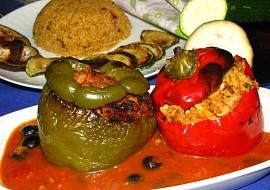 Arabské plněné papriky recept