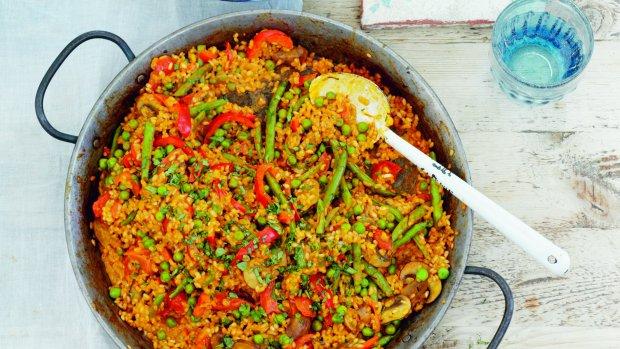 Vegetariánská paella podle Elly