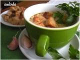 Uzená polévka se smetanou a krutonky recept