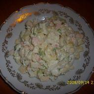 Sýrový salát s jablky recept