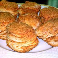 Škvarkové listové pagáče recept