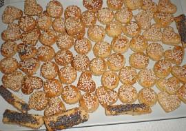 Pečivo z taveného sýra recept