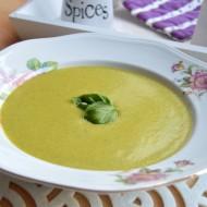 Zeleninový krém s chřestem recept