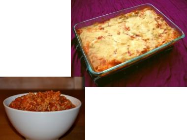 Ragú na zapečené lasagne