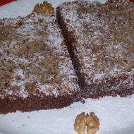 Ořechová buchta s čokoládou z domácí pekárny recept