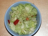 Ledový salát recept
