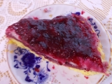 Ovocný koláč s želatinou recept