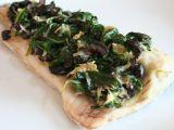 Rybí filet pečený se špenátem recept