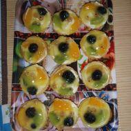 Ovocné košíčky s krémem recept