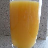 Domácí pomerančový džus s mrkví recept