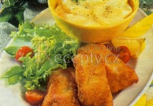 Filé s česnekovou majonézou