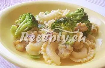 Ryba s těstovinami a brokolicí recept  recepty pro děti