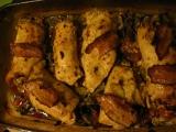 Zapékané kuřecí závitky recept