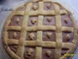 Linecký koláč s tvarohovo-pudinkovou náplní recept