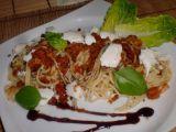 Špagety s letní drobenkou recept