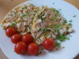 Omeleta chudé hospodyňky recept