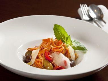 Recept Špagety s rajčatovou omáčkou
