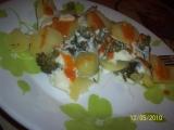 Pařené brambory s brokolicí a sýrem (Parní hrnec) recept ...