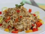 Zapečené houbové rizoto recept