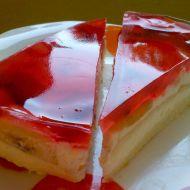 Lehký ovocný dort s tvarohem recept