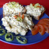 Vajíčkovo-okurkový salát recept