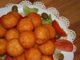 Smažené sýrové kuličky recept