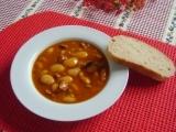 Vuřtový guláš s fazolemi recept