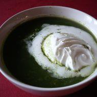 Špenátová polévka s kuskusem recept