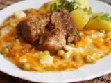 Dušená mrkev s bramborem a dušeným masem recept ...