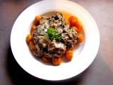 Dýňové gnocchi s houbovou omáčkou recept