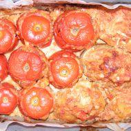 Plněná rajčata masem recept