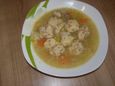 Noky s pohankou do polévky, jako příloha i nasladko