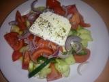 Řecký salát se sýrem Feta recept