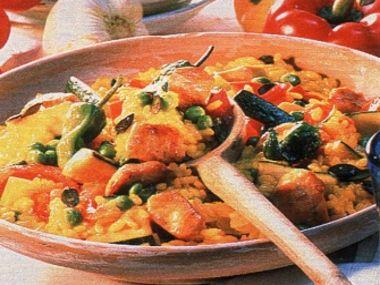 Zeleninová paella