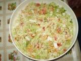 Chutný salát z čínského zelí recept