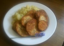 Amur s bylinkami a grilovanými bramborami recept