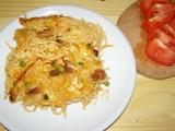 Zapékané špagety s vepřovým masem recept