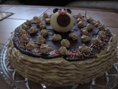 Tvarohový dort od babičky