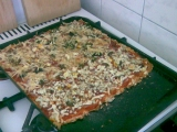 Dietní pizza recept