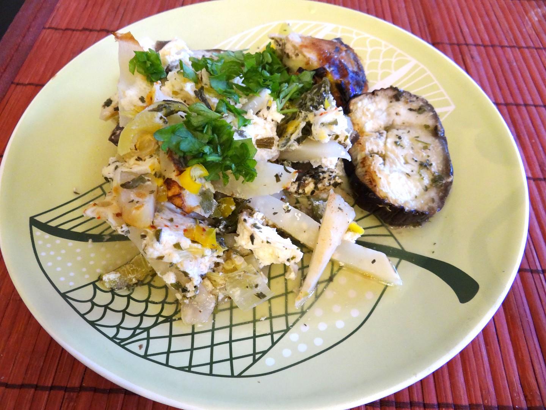 Ostrý lilek  zapékaný s celerem a chilli recept