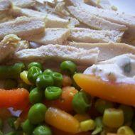 Vařené kuřecí se zeleninou recept