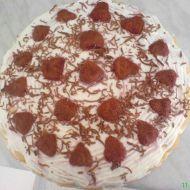 Jednoduchý nepečený ovocný dort recept