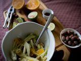 Fenyklový salát s pomerančem a lískovými oříšky recept ...