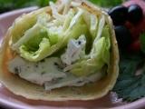 Palačinky plněné salátem recept