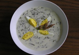 Šťovíková polévka  moje recept