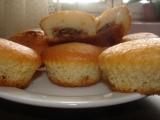 Vanilkové muffiny s toffifee recept