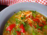 Celerovo  papriková polévka snadno a rychle recept