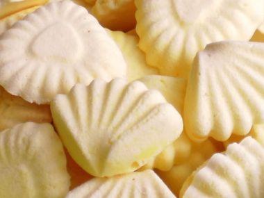 Žloutkové cukroví
